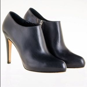 Cole Haan NikeAir Leather Heeled Ankle Booties